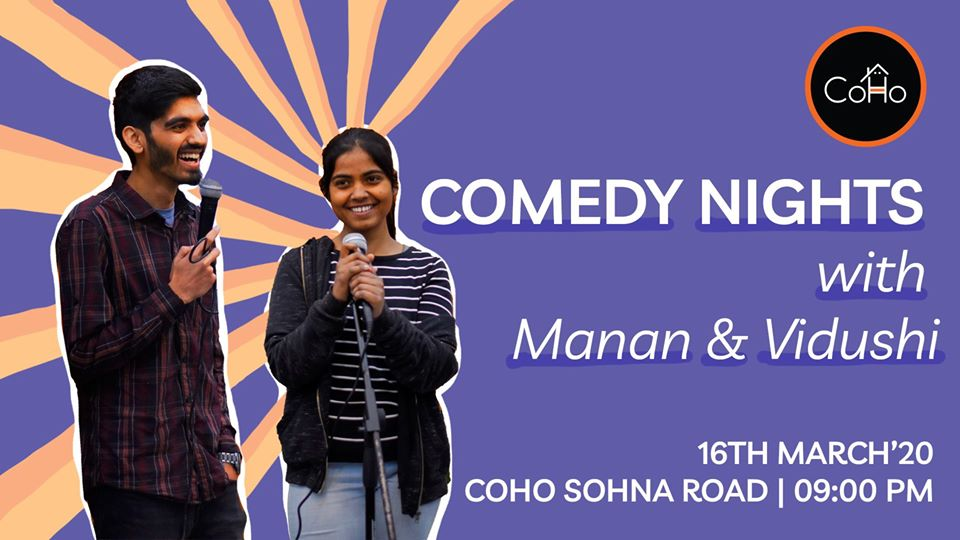 Comedy Nights with Manan & Vidushi